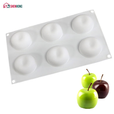 Apple Silicone Mould