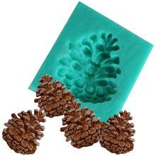 Silicone Mini Single PineCone Mould - for fudge and butter decorations