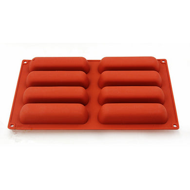 Eclair Shape Silicone Dessert Mould