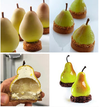 Pear Silicone Mould