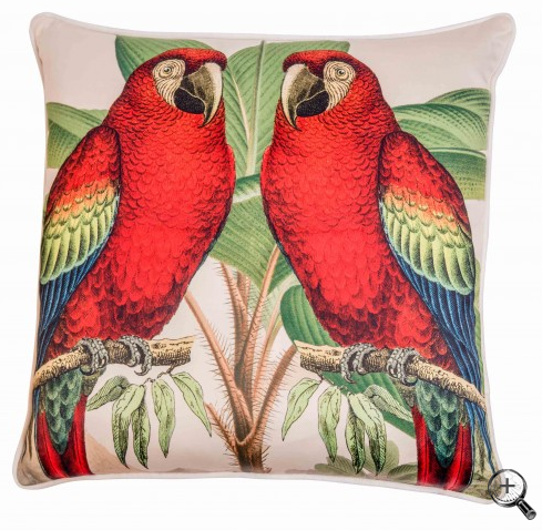 Jungla Loro Cushion