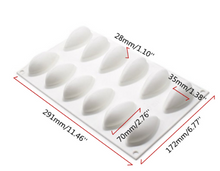 Silicone Quenelle Moulds