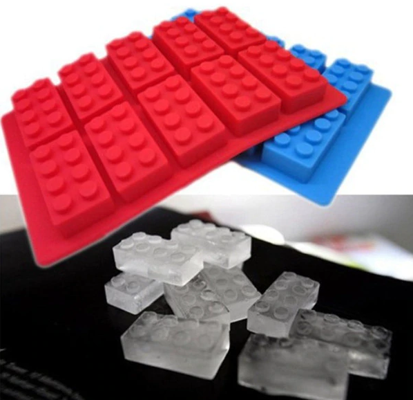 Medium Rectangle Lego Brick Mould