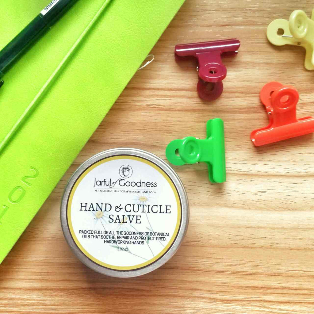 My fave new product: Hand & Cuticle Salve!