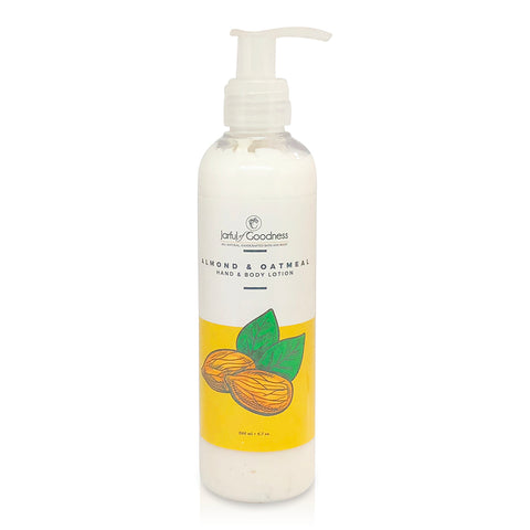 Almond & Oatmeal Hand & Body Lotion