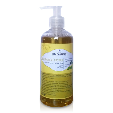 Lemongrass Liquid Castile Soap