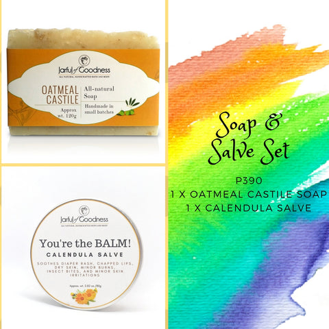 Soap & Salve Gift Set