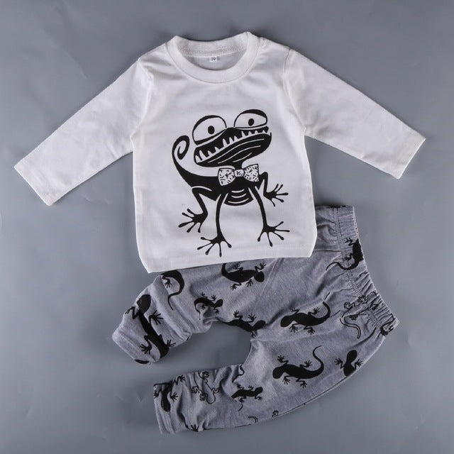 7b98517e46ab ... newborn little Kids boys clothes set Baby boy clothes fashion toddler  baby clothing