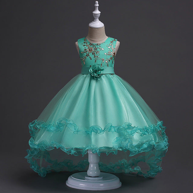 Girls Christmas Dress New Kids Dresses For Girls Clothes Party ...