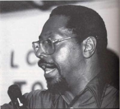 Dr. Amos Wilson, author of Blueprint for Black Power