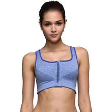 Valencia Zipper Sports Bra