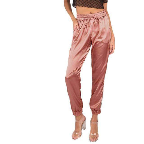 Brooke Satin Joggers