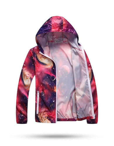 Galaxy Windbreaker