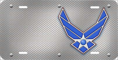 Air Force Wings - Auto Tag