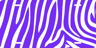 Zebra Print (purple) Auto Tag