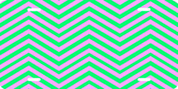 Chevron Pattern (pink/green) Auto Tag