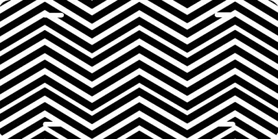 Chevron Pattern (black/white) Auto Tag