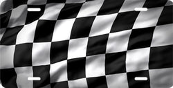 Racing Flag Auto Tag