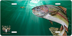 Rainbow Trout Fish Auto Tag