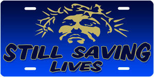 """Still Saving Lives"" Auto Tag"