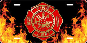 Fire Dept. Auto Tag