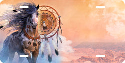Indian Horse Auto Tag
