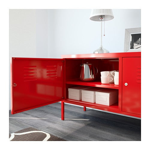 ... Ikea Ps Cabinet Red__B