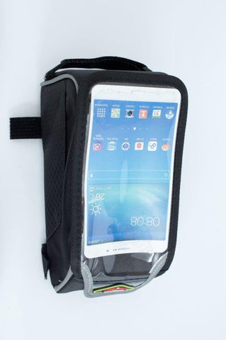 Bicycle bag with clear window for Android and Iphone up to 6 inch various colours