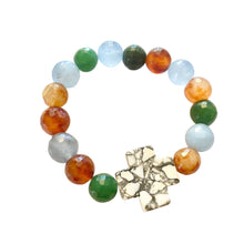 Load image into Gallery viewer, LOVE - Agate - Howlite - Bracelet