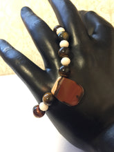 Load image into Gallery viewer, Tiger Eye - Cornelian- Bracelet- one of a kind