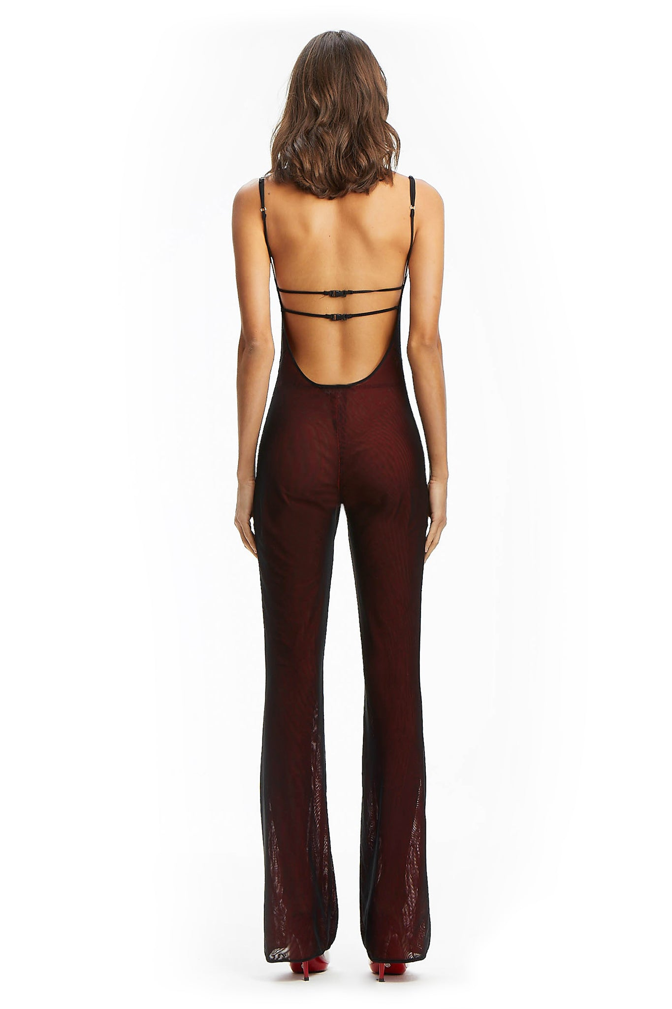 SCORPIO JUMPSUIT - RED