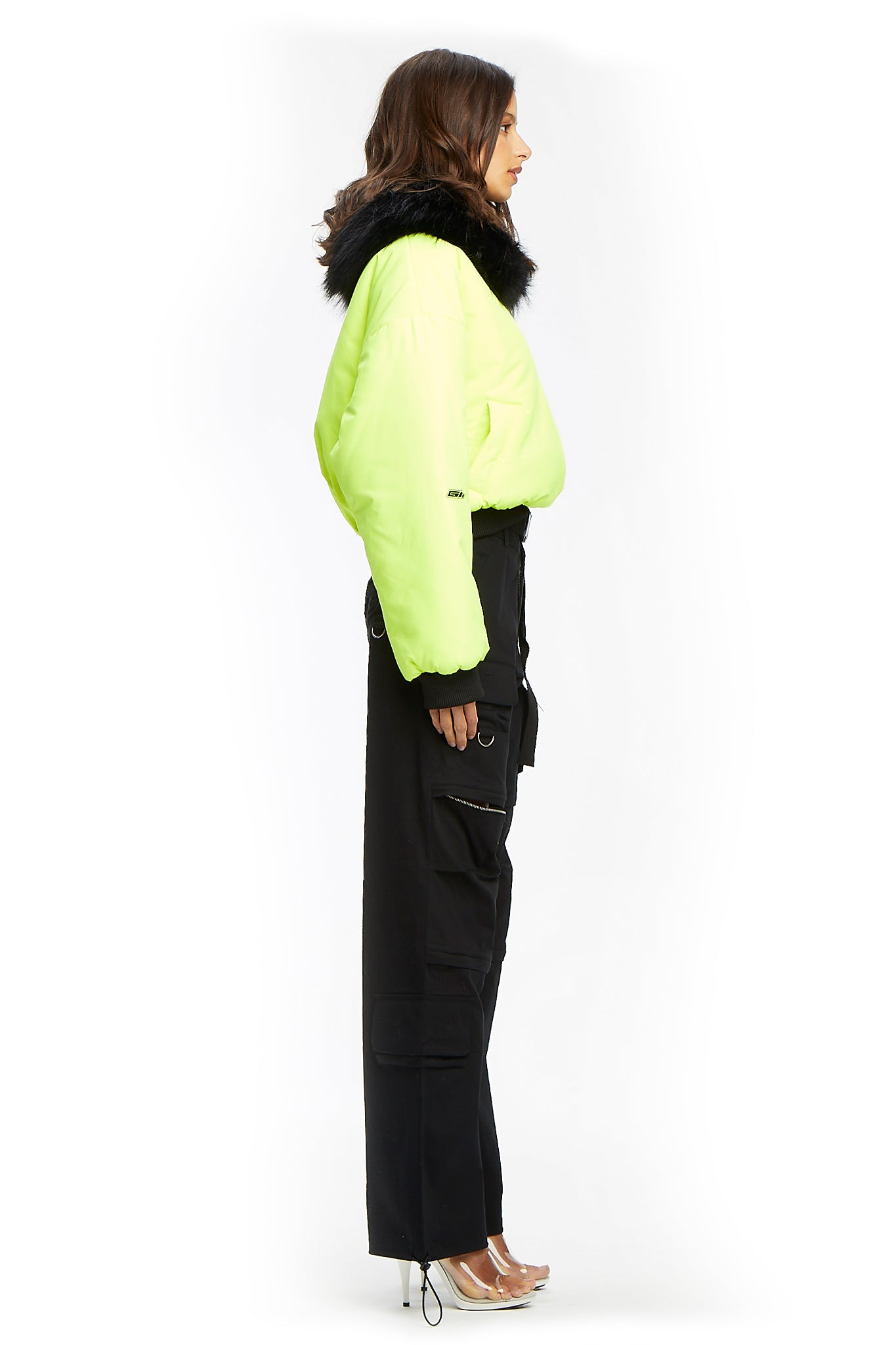 SAGA JACKET-NEON YELLOW