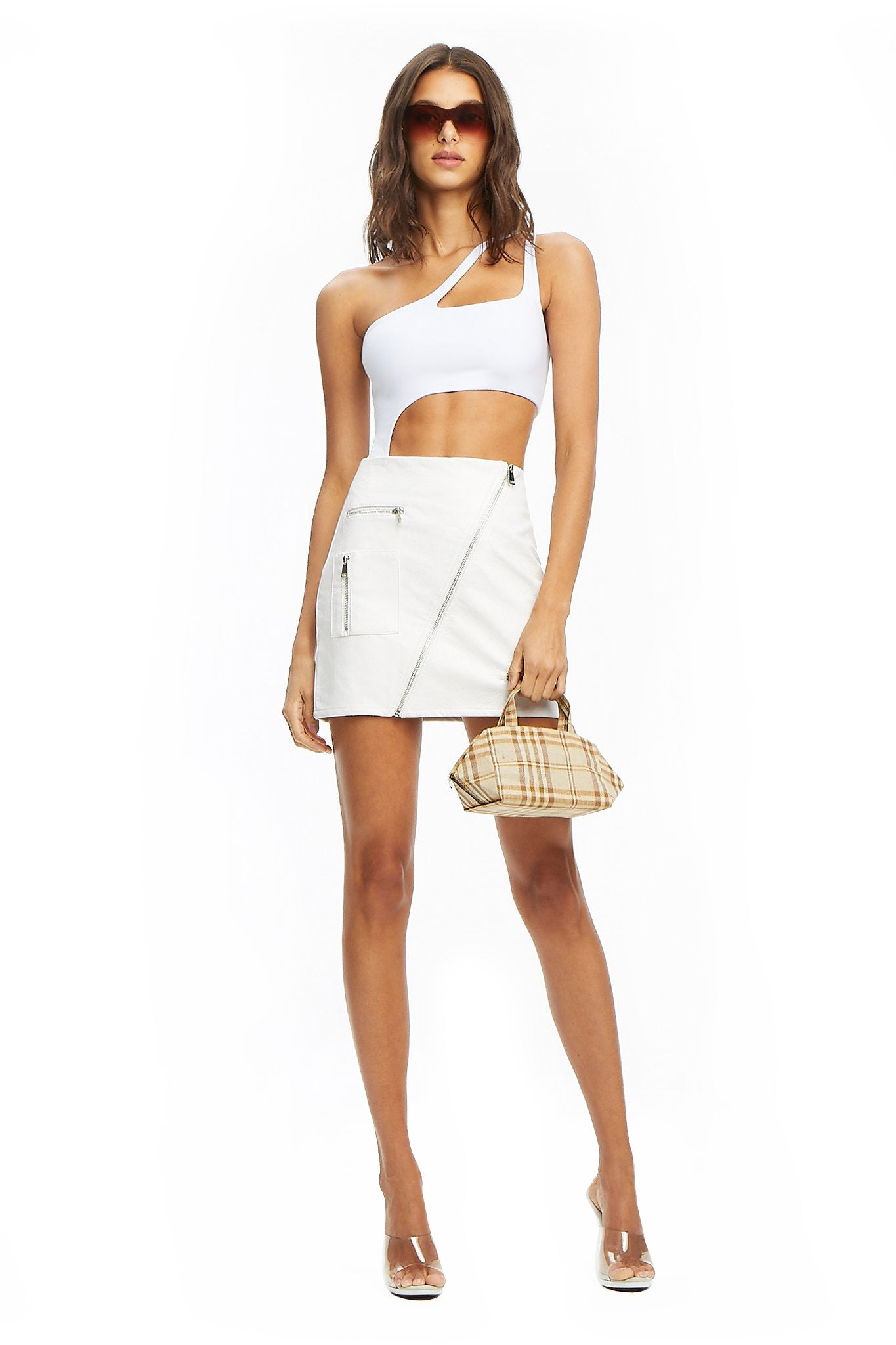 COURTNEY SKIRT 2.0 - WHITE