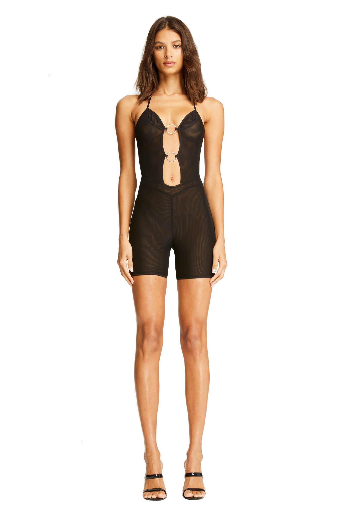 KENDRA PLAYSUIT- BLACK