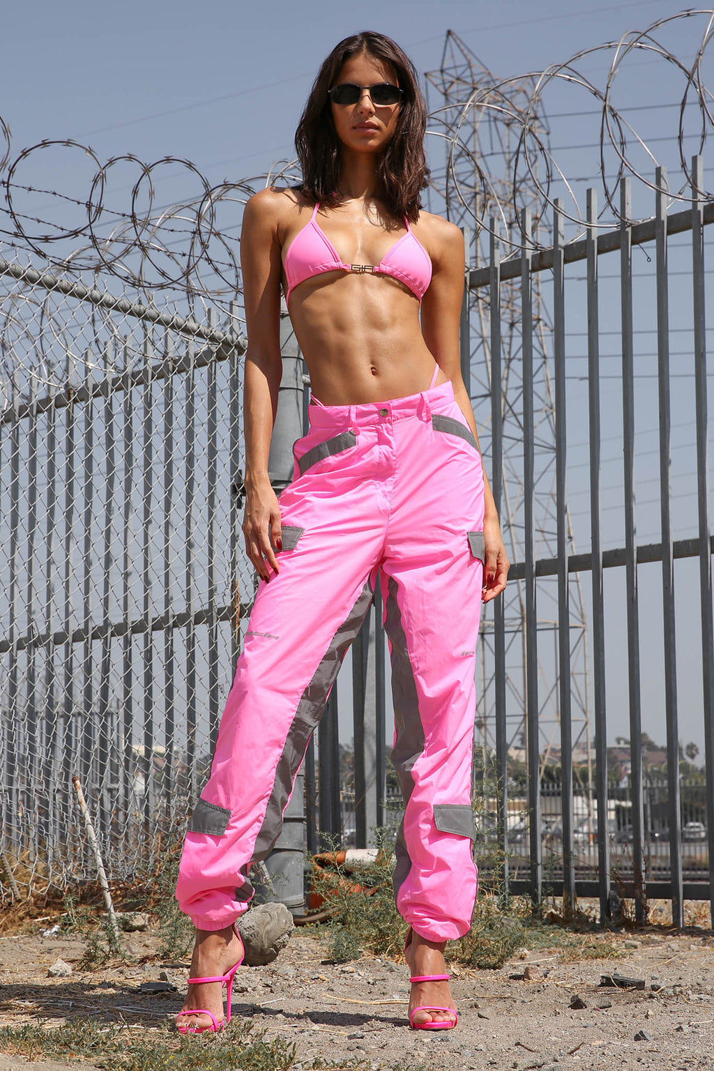 HALO PANT - NEON PINK
