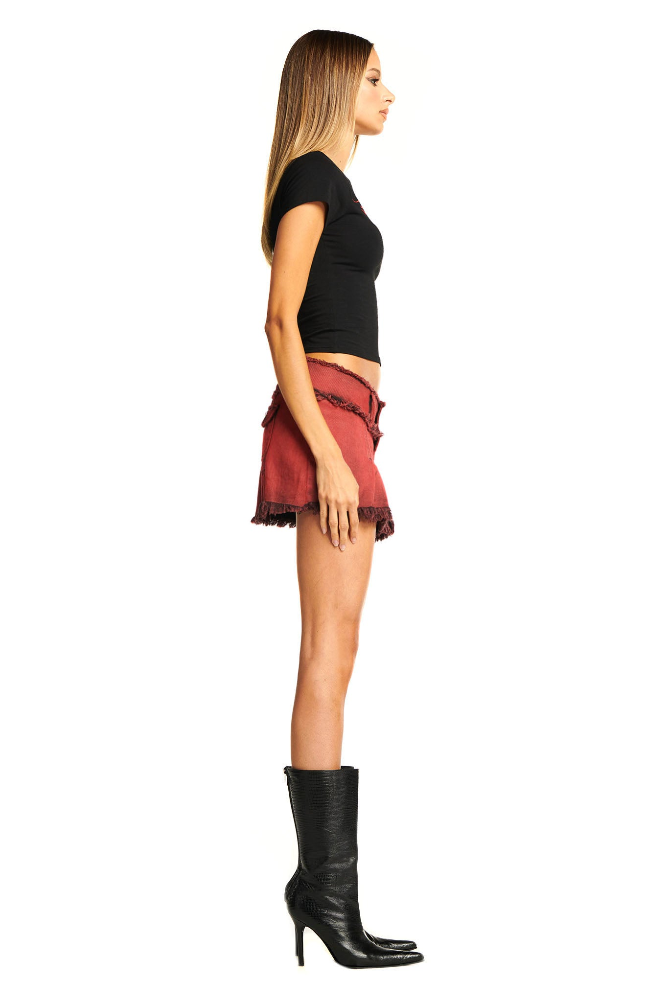 SKYLAR SKIRT - RED