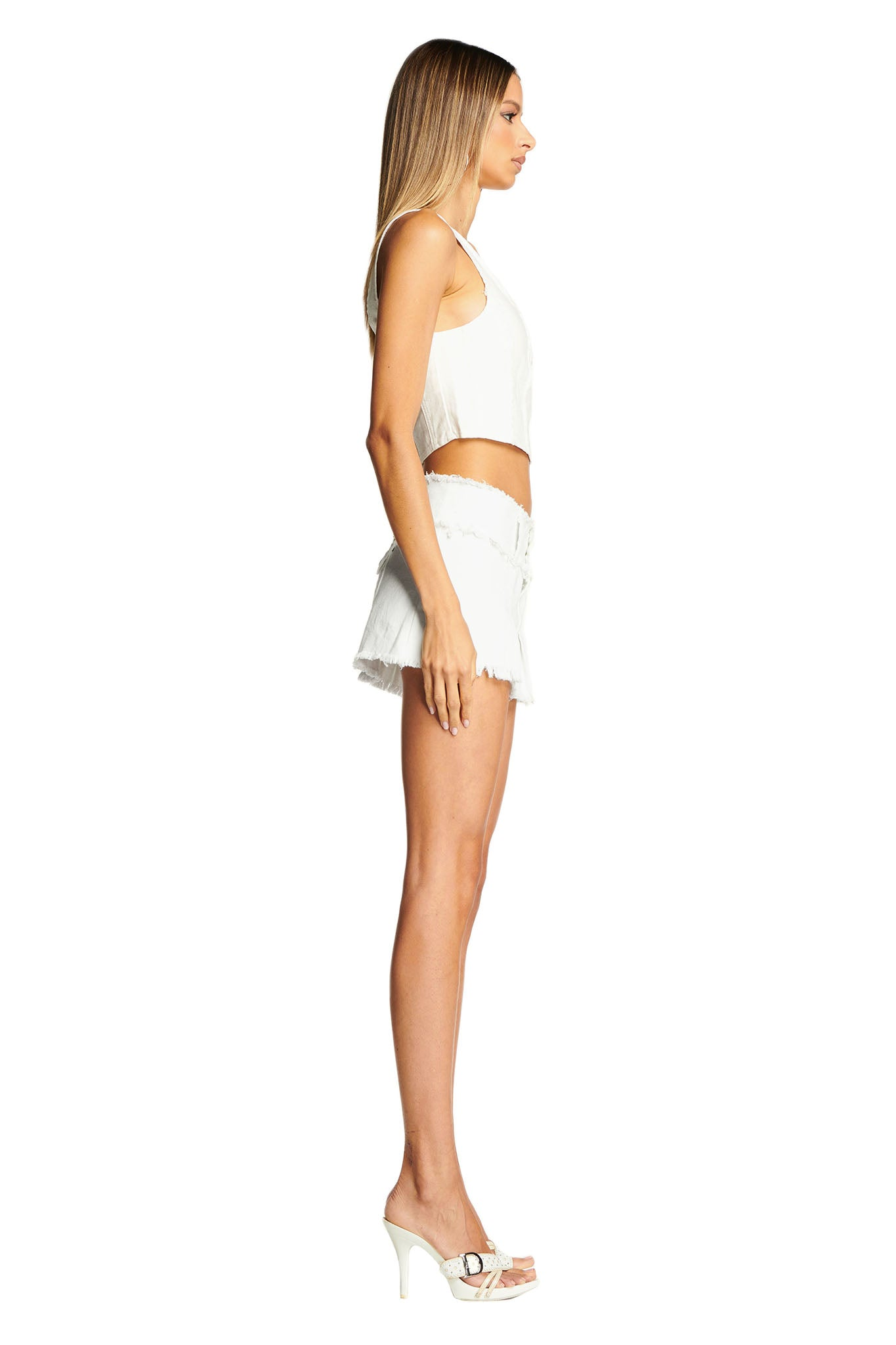 SKYLAR SKIRT - WHITE