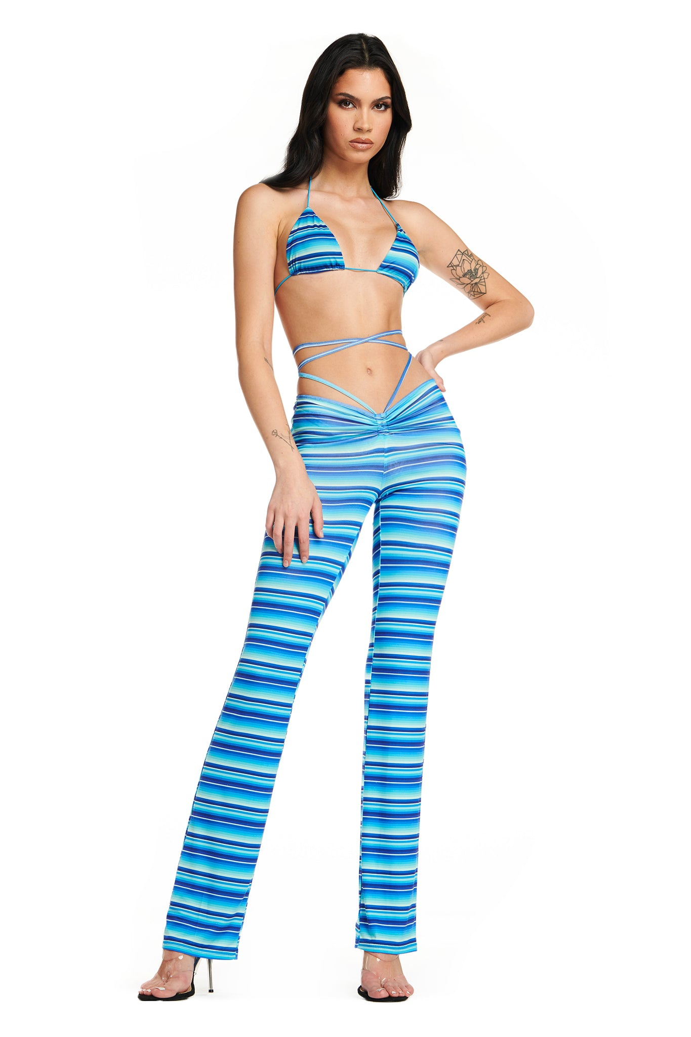 HALO STRIPE PANT
