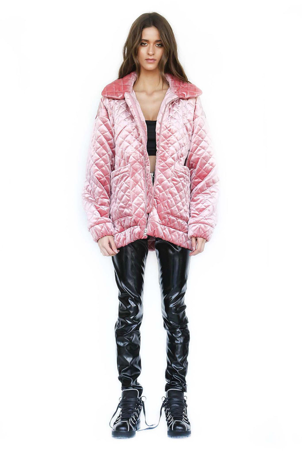 PRE-ORDER CONTRABAND JACKET - PINK (SHIPPING MID SEPTEMBER)