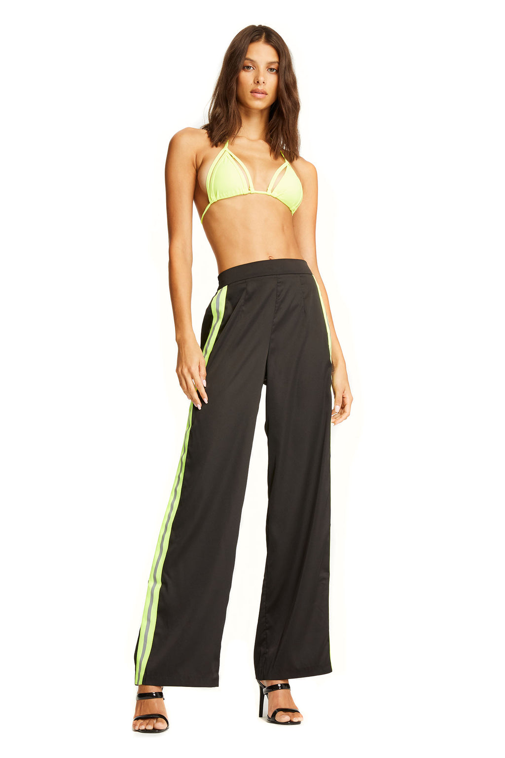 MAXWELL PANT - NEON/BLACK