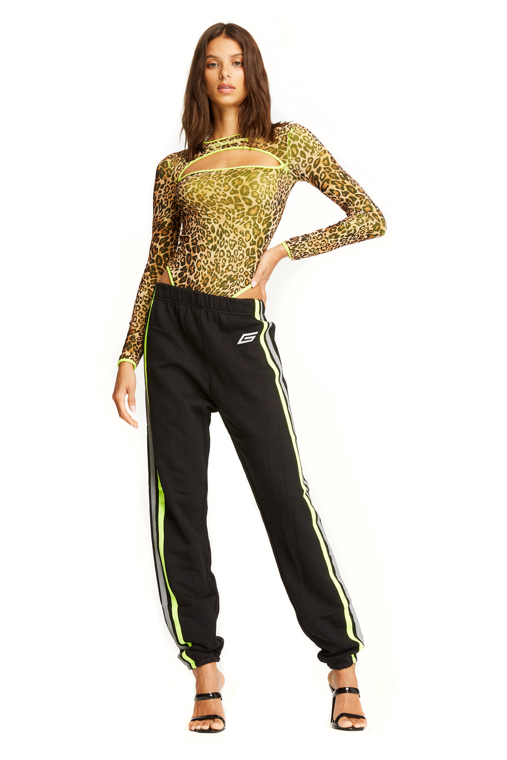 MERCURY PANT - NEON/BLACK