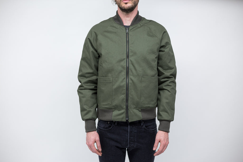 REVERSIBLE FLIGHT JACKET