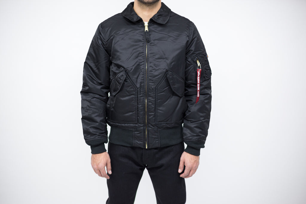 Alpha Industries Slim Fit MA-1 Flight Jacket