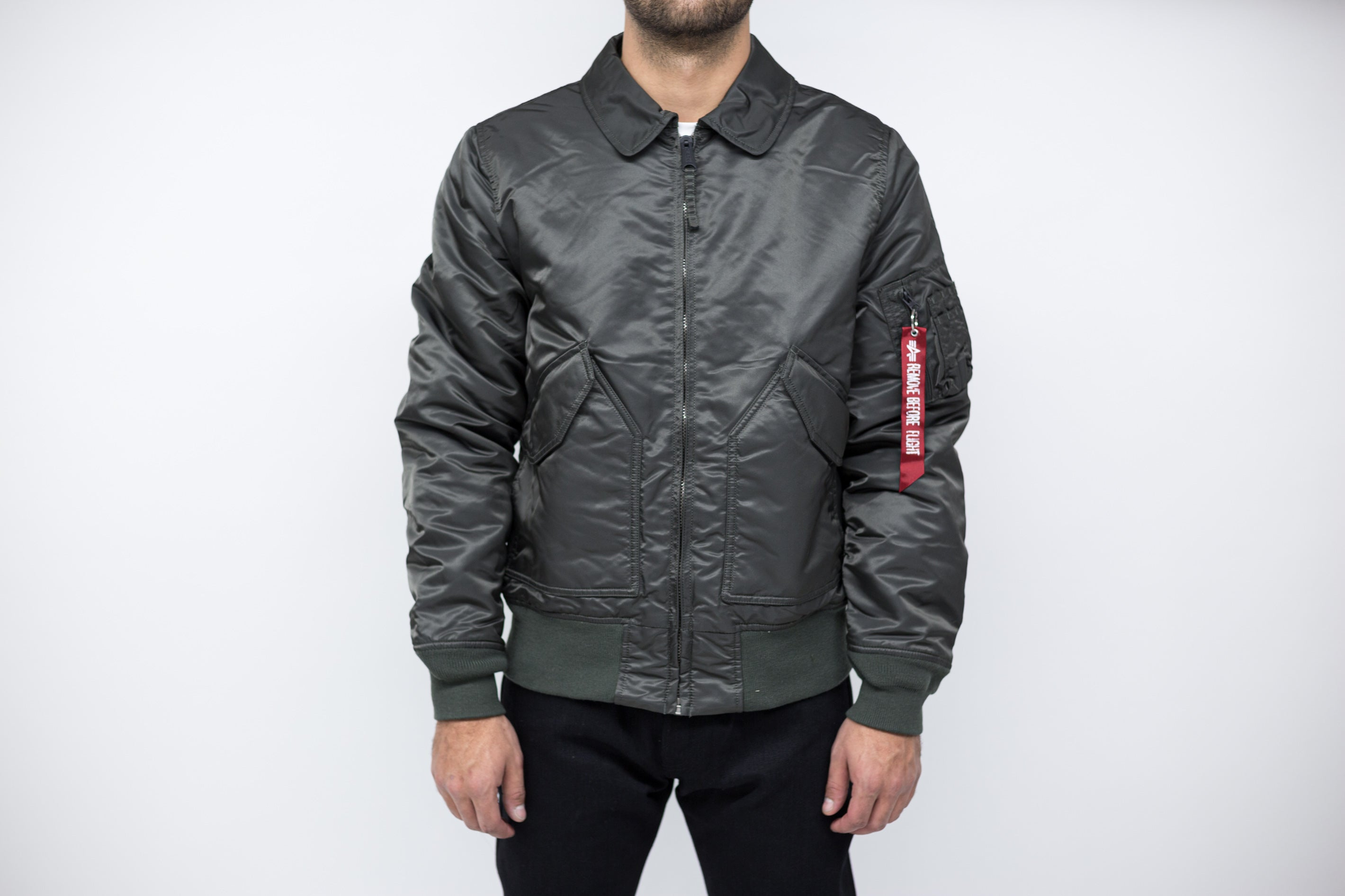 SLIM NYLON JACKET