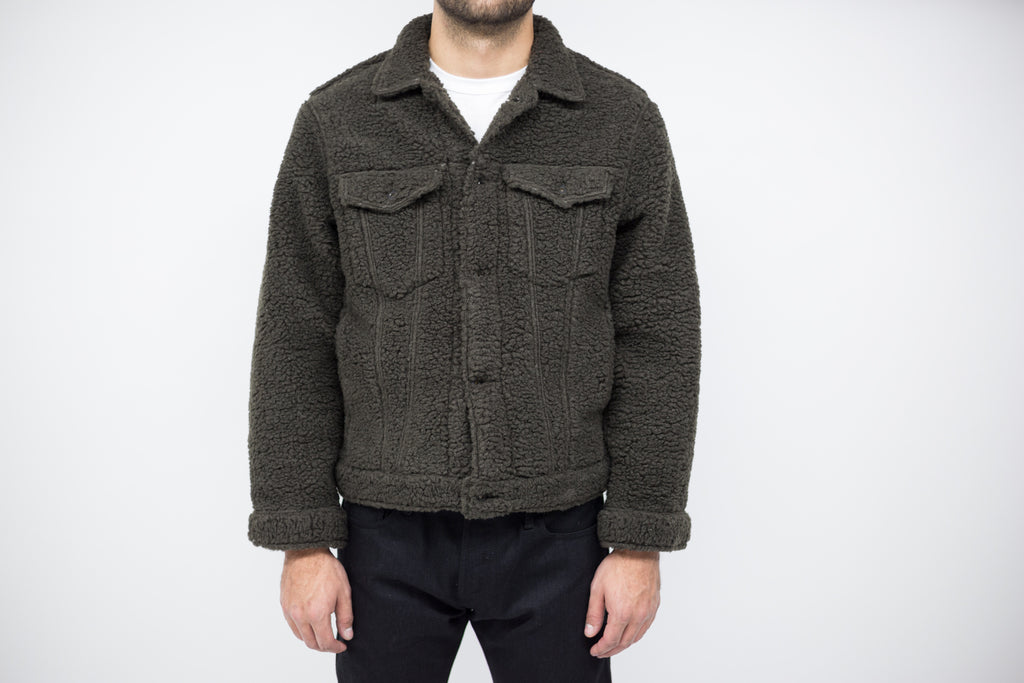 Naked and Famous Japanese Fleece Jacket