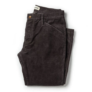 THE CAMP PANT | CHARCOAL CORD