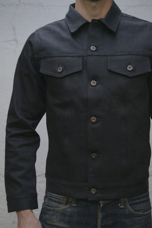 Black Selvedge Denim Jacket