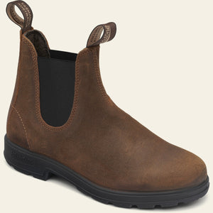 #1911 SUEDE BOOT | TOBACCO