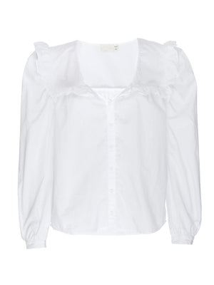 Tatiana Ruffled Shirt