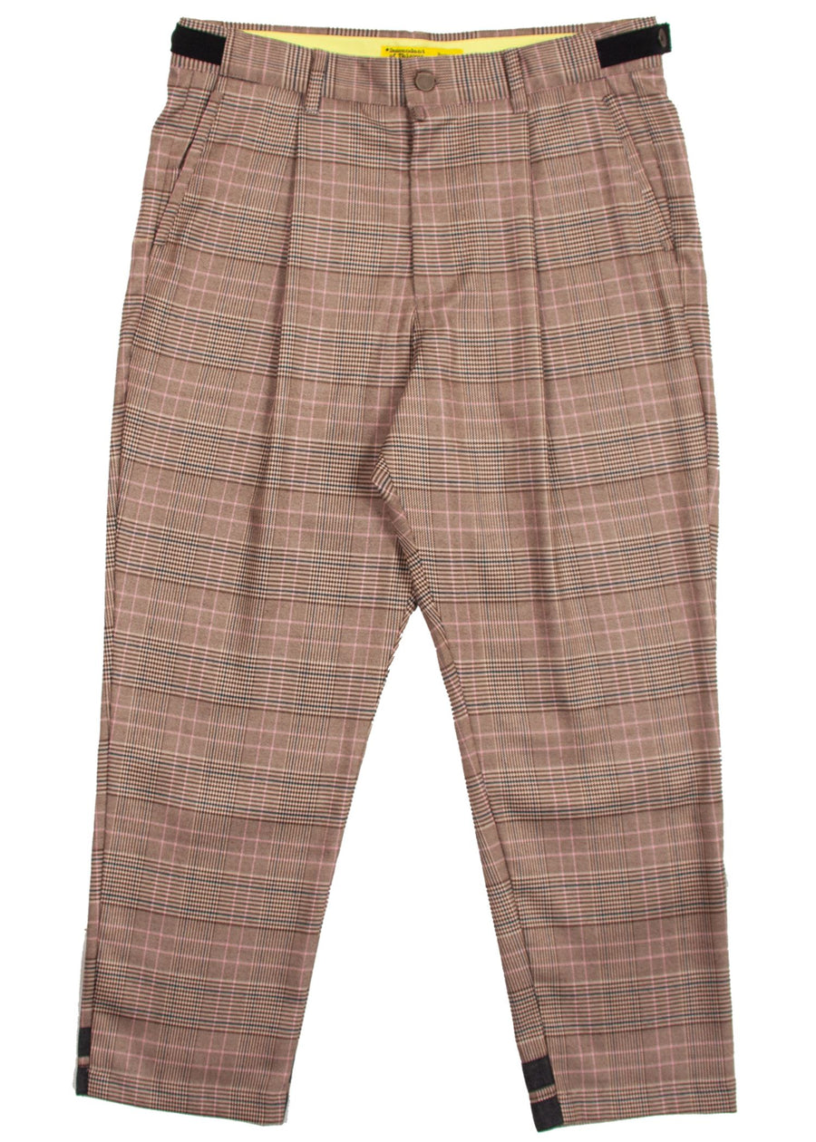 BOXER FIT:BRWN PLAID